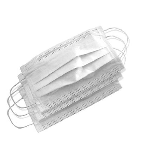 Mascara descartavel mascara descartavel 100 unidades kit tnt