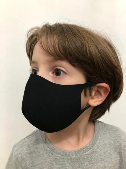 Mascara infantil de proteção lavavel reutilizavel ninja