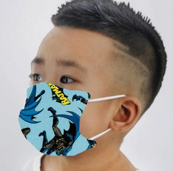 Mascara de tecido infantil batman