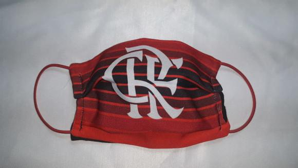 Máscara de proteção personalizada flamengo