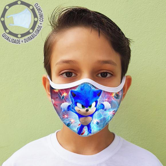 Máscara de proteção sonic tecido lavável ah01793