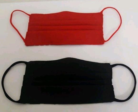 Máscara de proteção em tecido reutilizável