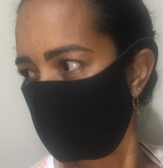 Máscara de proteção em neoprene 2mm