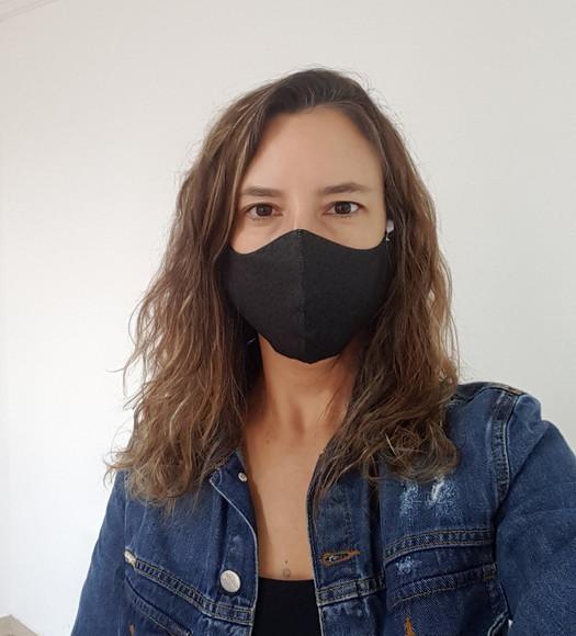 Máscara de tecido