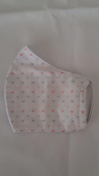 Máscara de tecido de algodão