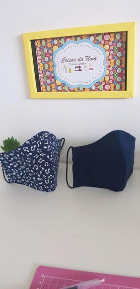 Máscara de tecido para proteção contra corona vírus
