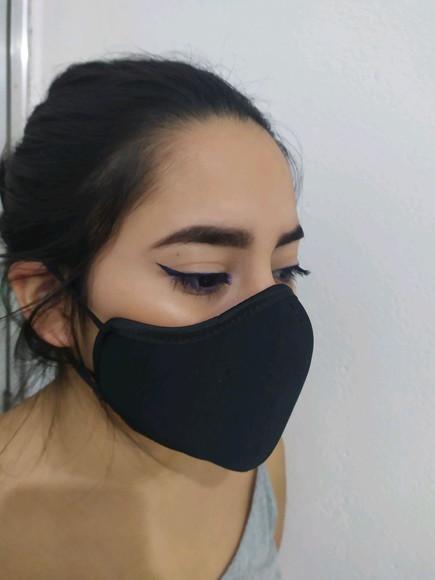 Máscara facial alta proteção em neoprene reutilizável