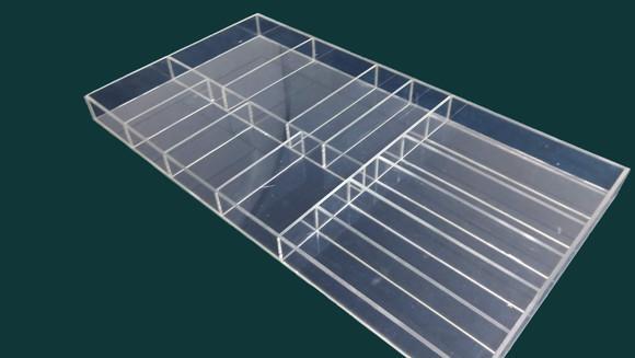 Organizador de gavetas em acrílico sob medida