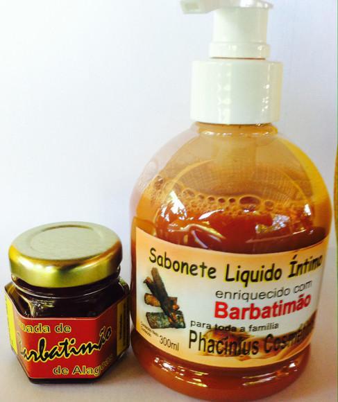Pomada barbatimão (hpv) e sabonete barbatimão liquido
