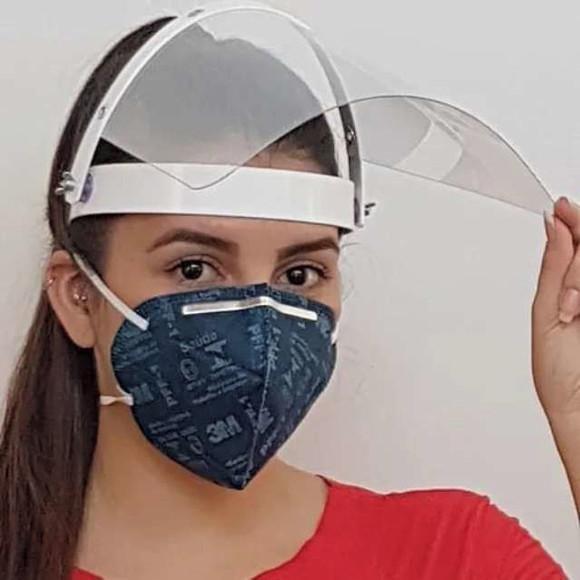 Protetor facial - face shield - máscara de proteção