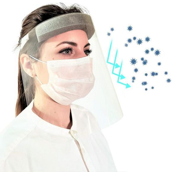 Protetor proteção facial mascara dentistas recepcionista