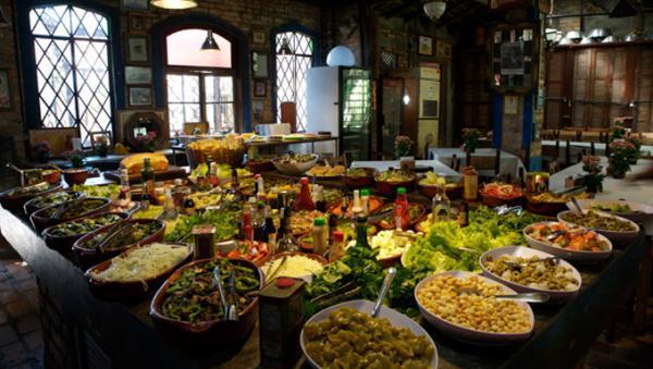 Restaurante alto padrão por kilo e à la carte 650 m² no