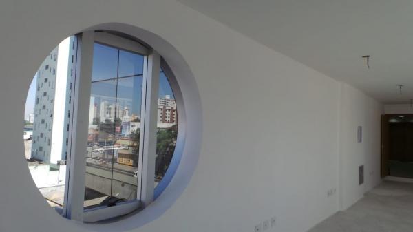 Sala comercial 55 m² no edifício tower, centro - santo