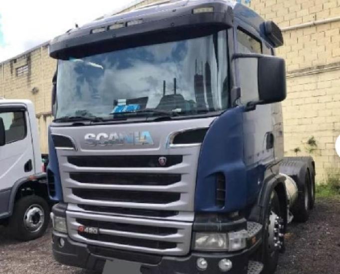 Scania g420 6x4 parcelo