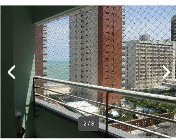 Apartamento mobiliado, praia de iracema vista mar