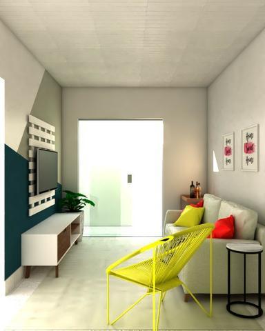 Apto sala e quarto na rua fernando guilhon