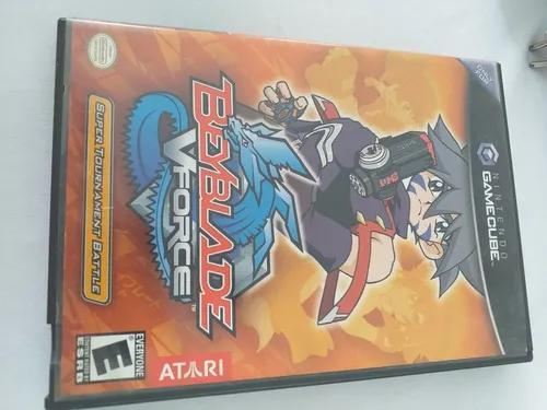 Beyblade v force game cube original campinas g