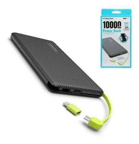 Carregador portatil pineng original 10 mil mah pn951 10000