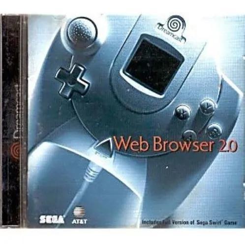 Cd webbrowser 2.0 dreamcast original americano+ cd generator