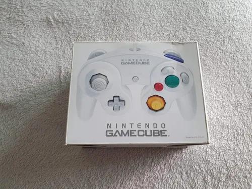 Controle gamecube branco original novo lacrado 3m