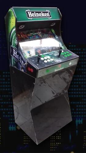 Fliperama bartop tela de 32 15.000 jogos