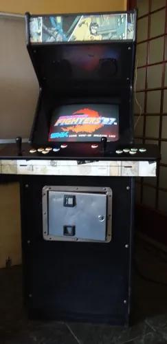 Fliperama (arcades) antigo clássico, usado, tela 22' com