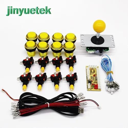 Kit zero delay usb arcade sanwa genérico iluminado led
