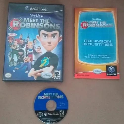 Meet the robinsons gamecube original completo americano
