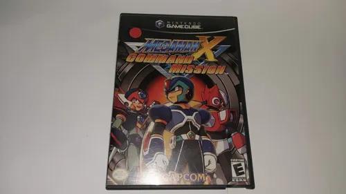 Mega man x: command mission p/ gamecube original