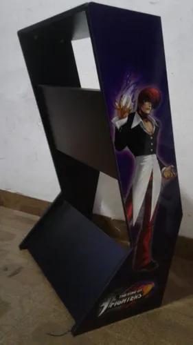 Mesa suporte para arcade duplo - a75xl80xp22cm