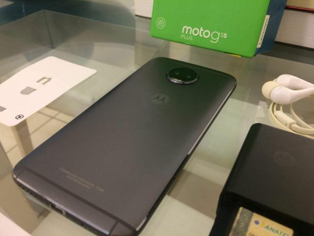 Moto g5 s plus 32gb 3gb ram octa-core. telão full hd 5.5