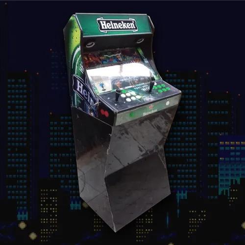 Máquina nordik games fliperama bartop c/ ficheiro