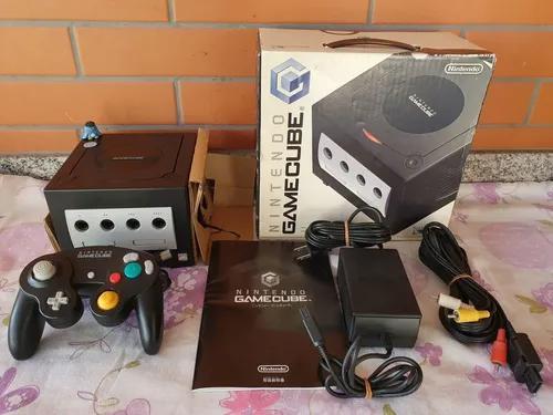 Nintendo game cube console japonês bloqueado completo