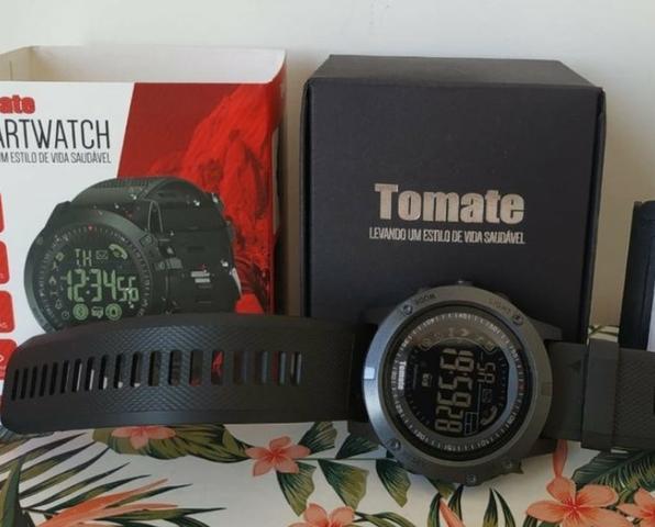 Relógio inteligente smart watch esporte prova d'água mtr