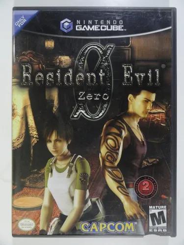 Resident evil zero - gamecube original import duplo completo