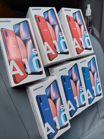 Samsung A10s lacrado c/nota (Ac cartão)