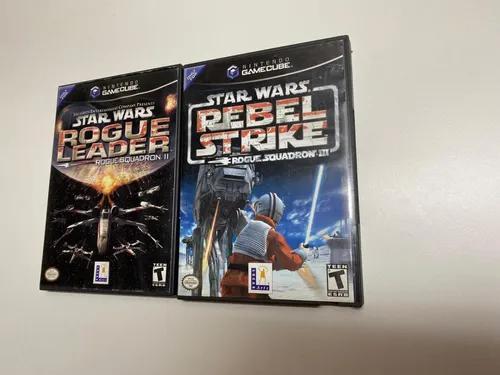 Star wars ii e iii p/ gamecube: rogue leader e rebel strike
