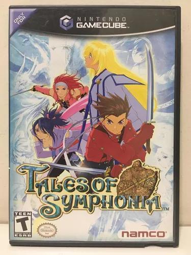 Tales of symphonia nintendo gamecube completo