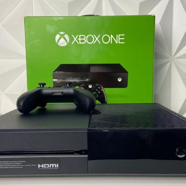 Xbox one 500gb + jogos