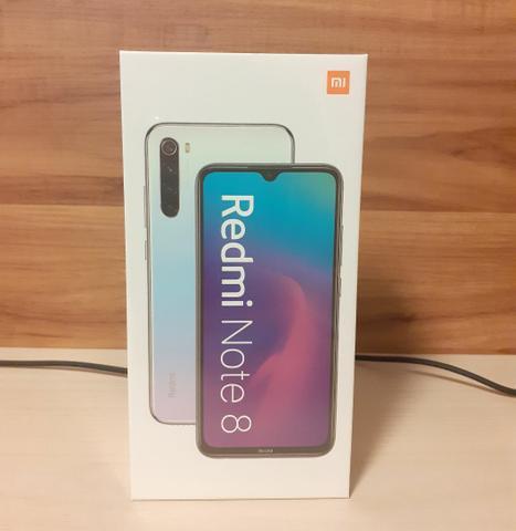 Xiaomi redmi note 8 - 64gb - 4gb ram - lacrado - garantia