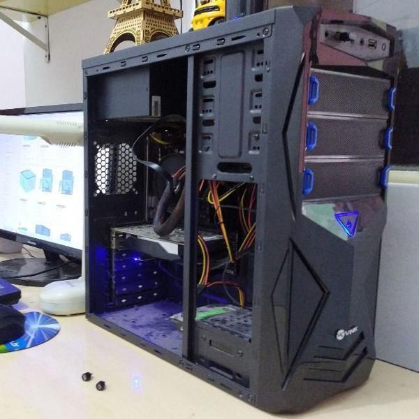 Pc gamer intel core i7 6700k 340gb 8gb gpu 1050ti