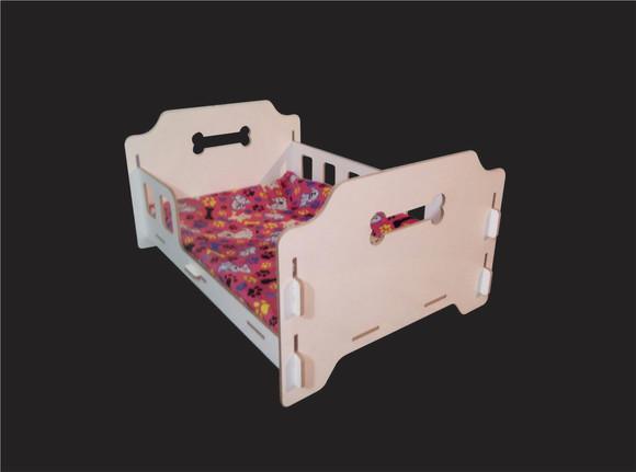 Cama pet 40x60cm + colchão brinde