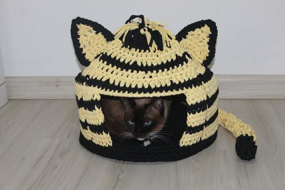 Casa, casinha toca pet para gato