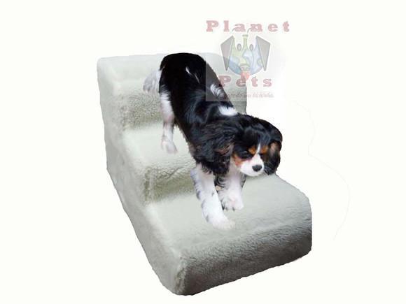 Escadinha pet cães,pelúcia antiderrapante,lavável 40cm