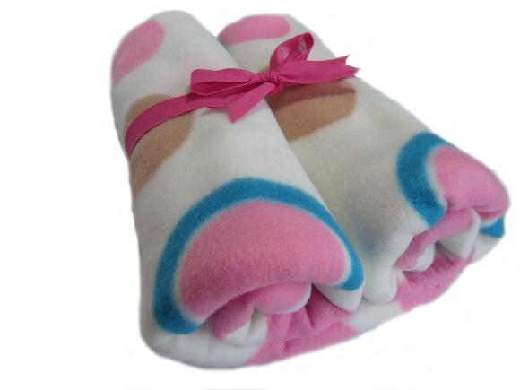 Manta soft grande (92cm x 76cm) estampa exclusiva