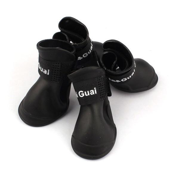Sapato para cachorro de médio à grande porte preto xl