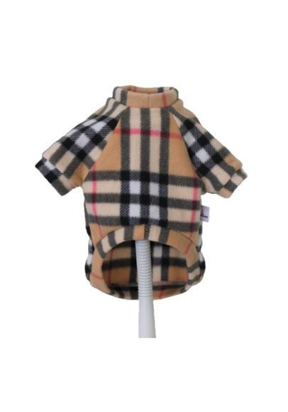 Suéter Pet Soft Xadrez - Agasalho Inverno Cães Shih Tzu