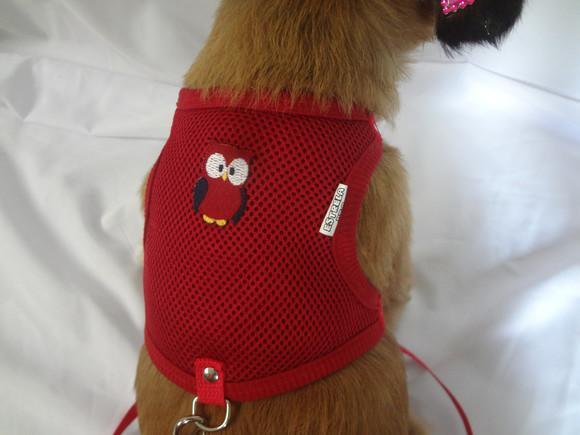 Peitoral guia para pets porte pequeno.
