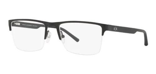 Armação oculos grau armani exchange ax1026l 6000 54 preto