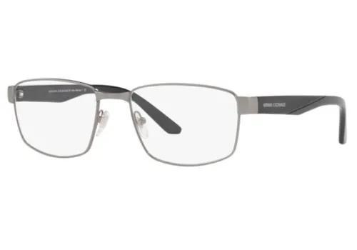 Armação oculos grau armani exchange ax1036 6113 55 grafite
